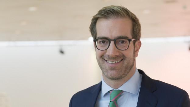 Conradin Cramer ist seit Februar 2017 Basler Erziehungsdirektor