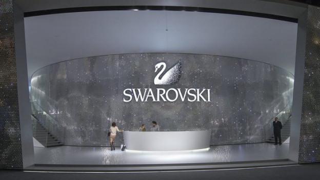 Stand von Swarowski an der Baselworld