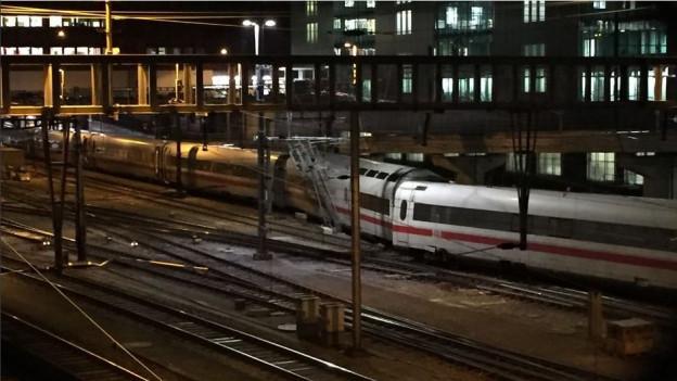 Unfall im Bahnhof SBB