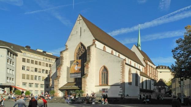 In der Barfüsserkirche ist der grösste Teil des Historischen Museums.