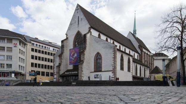 In der Barfüsserkirche ist das Historische Museum untergebracht