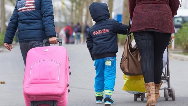 Jeder hundertste Einwohner in Basel-Stadt ist ein Flüchtling