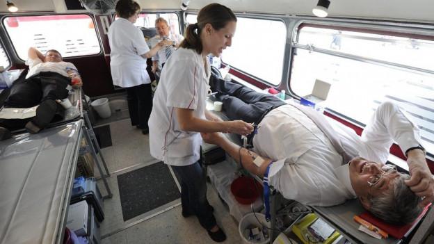 Knappe Blutreserven