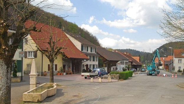 Dorfplatz Meltingen