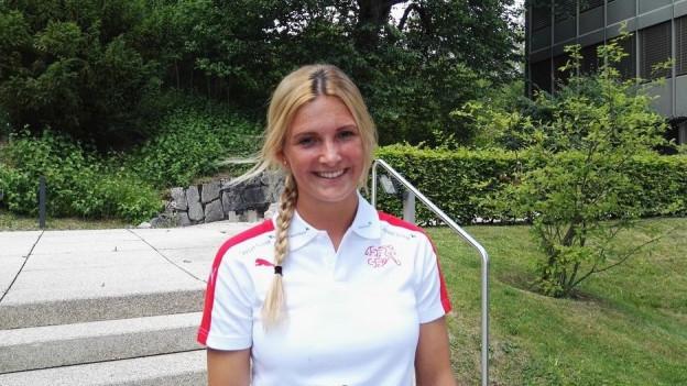 Rachel Rinast musste sich zwischen einer Musiker- und einer Fussballkarriere entscheiden.