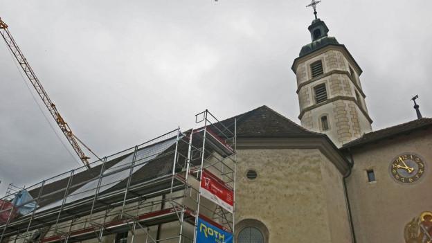 Die Katharinenkirche in Laufen ist auf Spendengelder angewiesen.