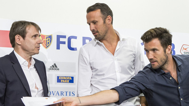 Neues Leitungsteam beim FC Basel