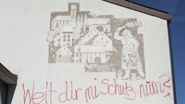 Das Wandbild in Ormalingen