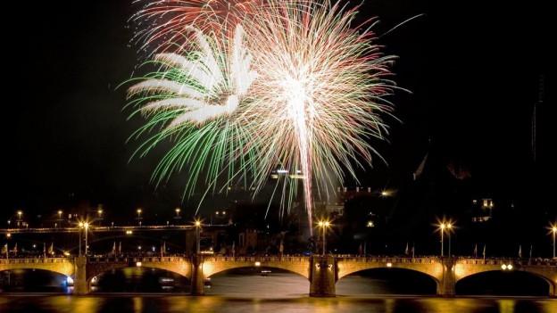 Auch in diesem Jahr Höhepunkt: Das Feuerwerk um 23 Uhr.