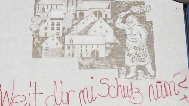 Das Wandbild von Walter Eglin