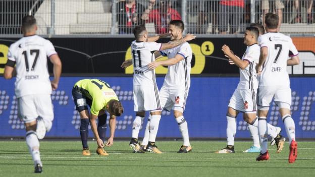 Der FC Basel konnte dreimal jubeln am Samstagabend