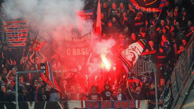 FCB-Fans randalierten nach einem Spiel gegen Zürich.