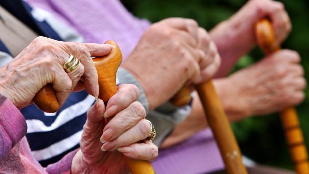 Jeder dritte Einwohner in Riehen ist über 65 Jahre alt.