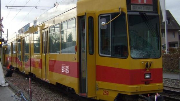 Gelbes Tram