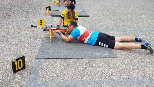 Sommer Biathlon in Lausen