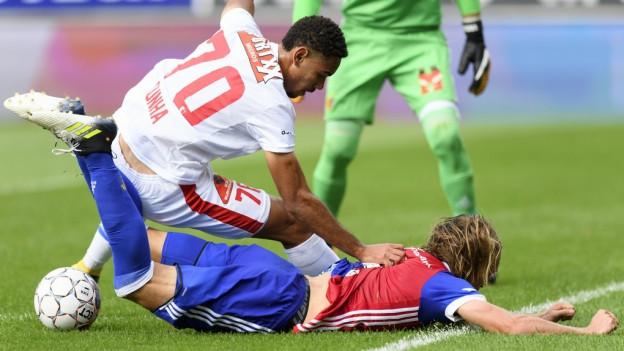 Der FC Basel spielt gegen Sion 1:1