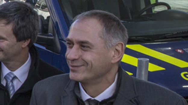 Der Basler Regierungsrat Hans-Peter Wessels