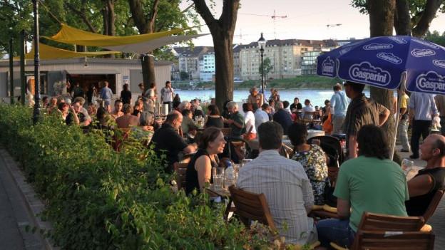 Buvetten am Rhein sind immer beliebter