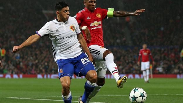 FC Basel verliert gegen Manchester United