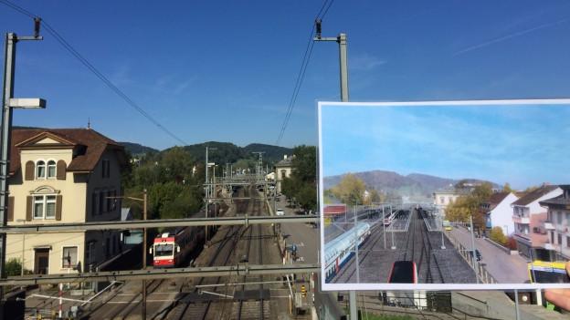 So soll der Bahnkonten Liestal einmal aussehen