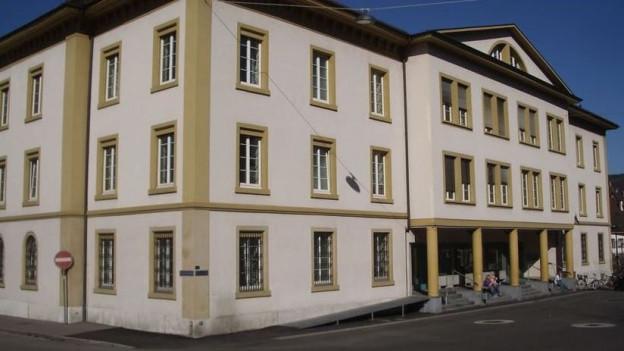 Blick auf das Baselbieter Kantonsgericht in Liestal.