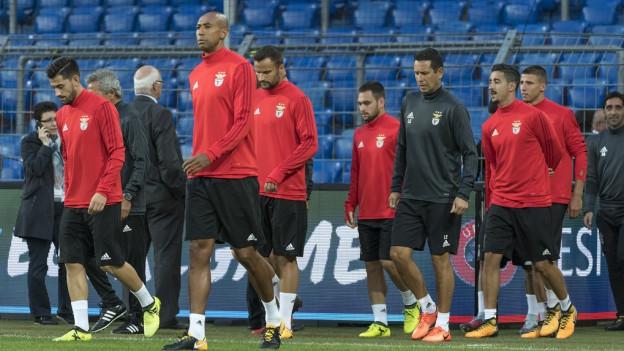 Benfica Lissabon bereitet sich nicht zum ersten Mal auf ein Spiel in Basel vor.