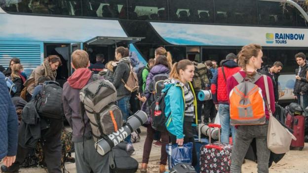 Der europäische Jugendtreff in Basel ist vorbei