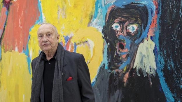 Kunstmuseum und Fondation bringen Baselitz zusammen