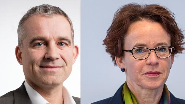 Beat Jans und Eva Herzog haben Interesse am Basler Ständeratssitz