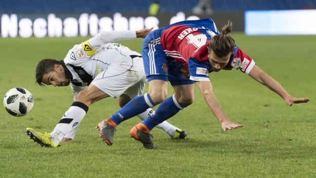 Valentin Stocker geriet mit dem FC Basel gestern ins Straucheln.