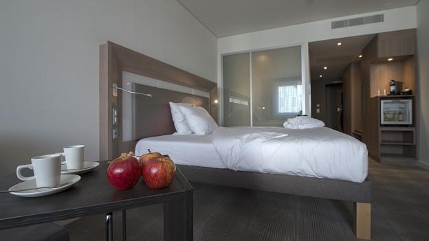 Auch im 2017 waren die Basler Hotelzimmer beliebt.