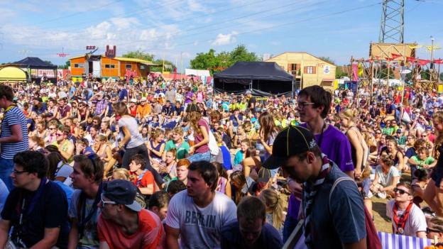 Das letzte «Pfadi Folk Fest» fand 2015 in Menzingen im Kanton Zug statt