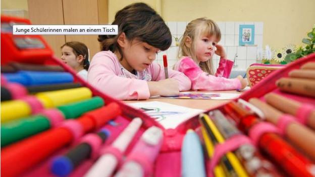 In der International School lernen die Kinder auf Deutsch und Englisch.