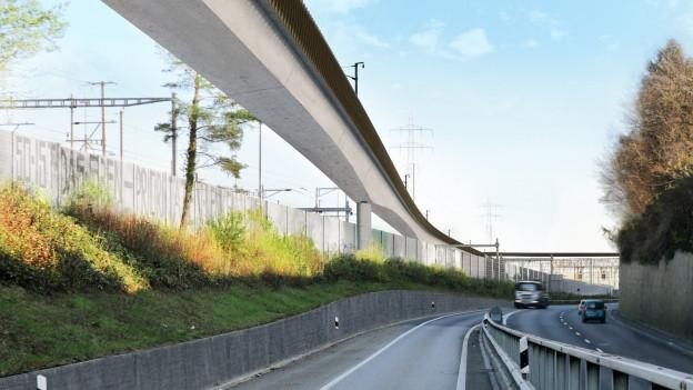 Donnerbaumbrücke entflechtet