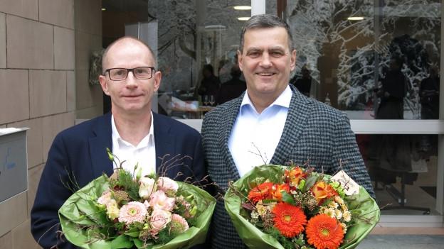 Guido Vogel und Felix Wehrli wurden am Sonntag gewählt