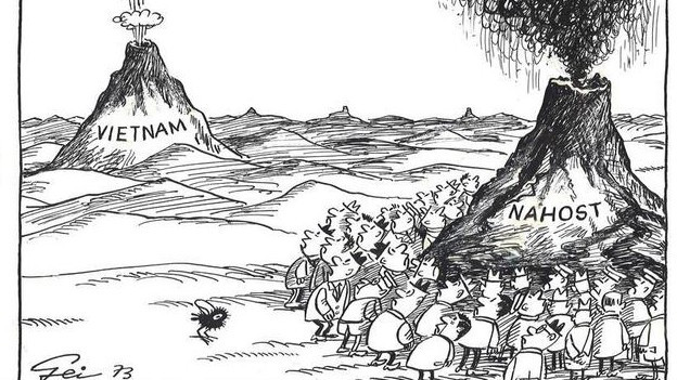 Karikatur von Hans Geisen.