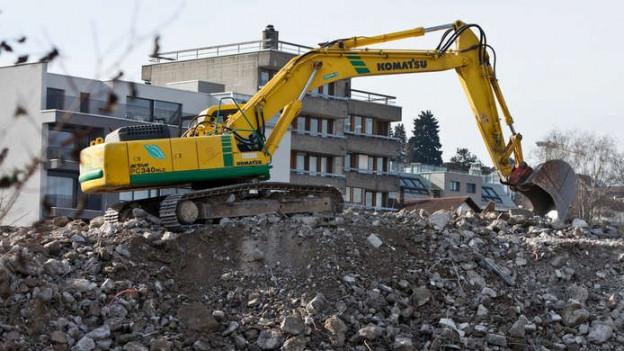 Schwierige Suche nach Bauschutt-Deponien