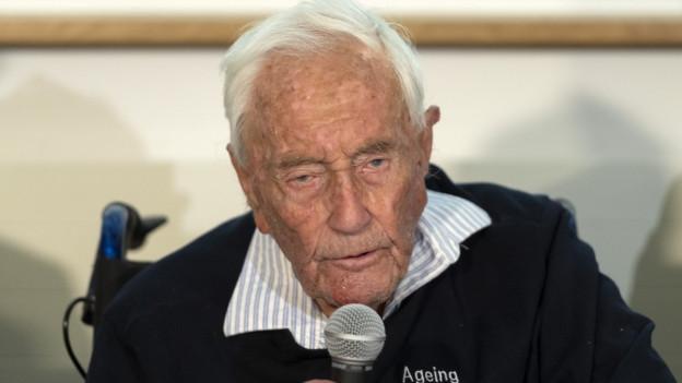 Der Australier David Goodall kam in die Schweiz, um zu sterben