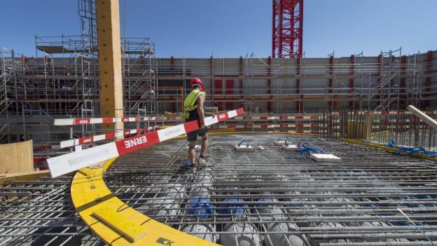 Der Neubau des Biozentrums kommt nicht voran.