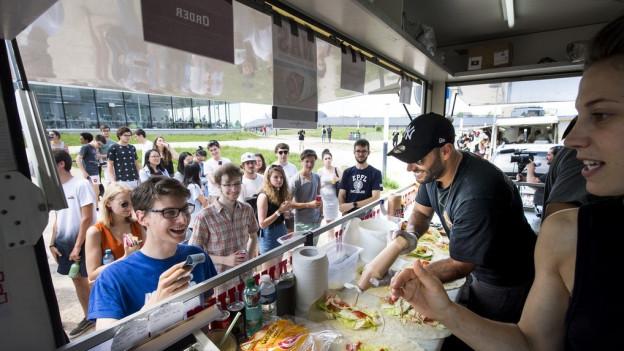 Food Trucks in Basel jetzt willkommen