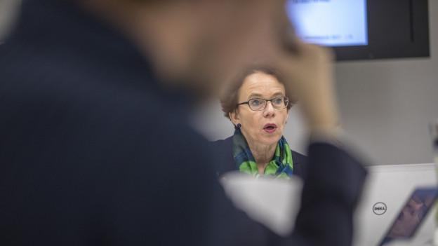 Herzog «erfreut» die Finanzkommission des Basler Grossen Rates
