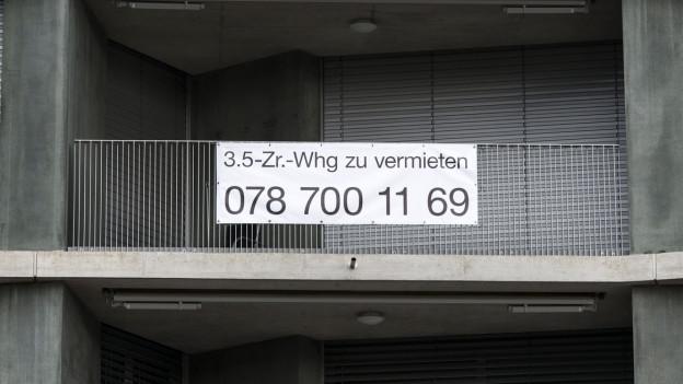 Bei vier Vorlagen wurde in Basel-Stadt über Mieterthemen abgestimmt