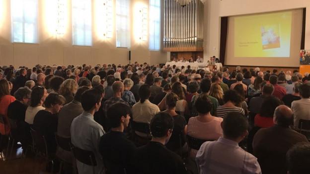 Die Versammlung der GGG