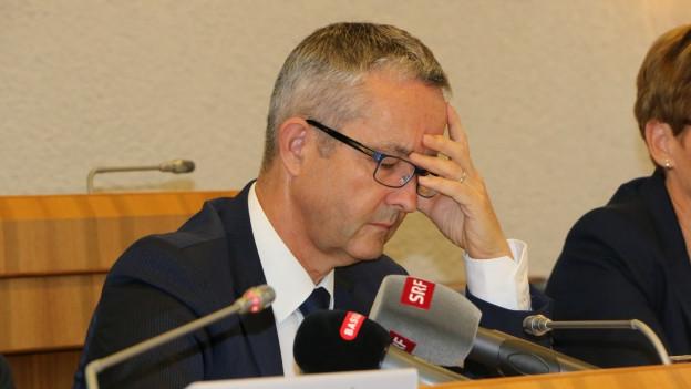 Thomas Weber sitzt seit 2013 in der Baselbieter Regierung