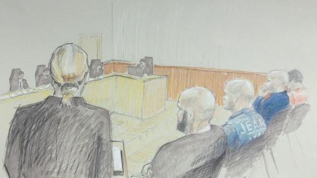 Die Staatsanwältin hielt am Dienstagmorgen den ersten Teil des Plädoyers