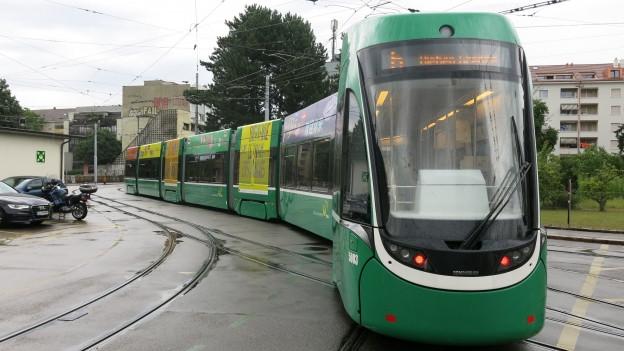 Fast alle Basler Trams haben eine Klimaanlage.
