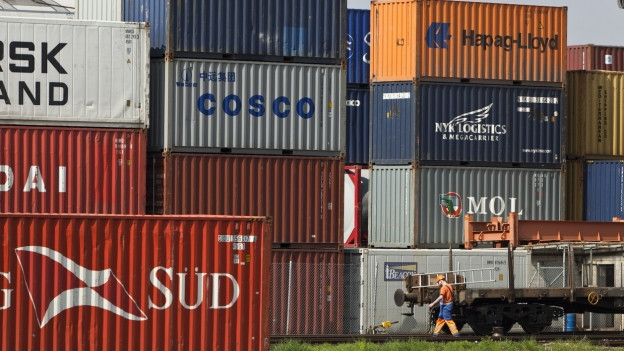 Container Stapel