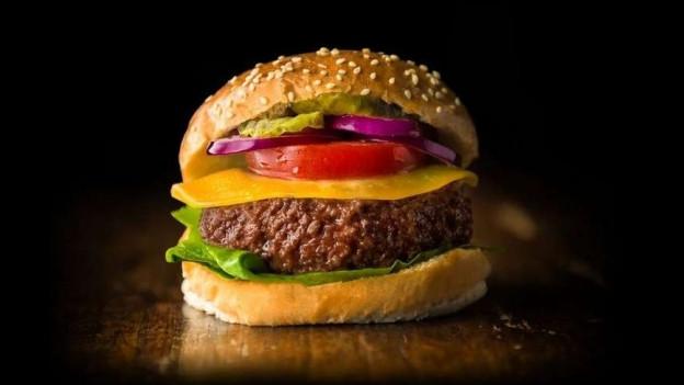 Ein im Labor gezüchteter Burger
