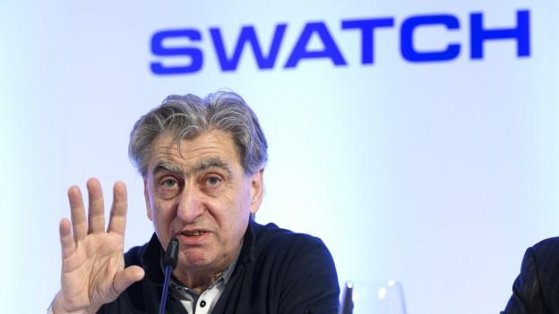 Konzernchef Nick Hayek will mit seiner Swatch Gruppe nicht mehr an die Baselworld.