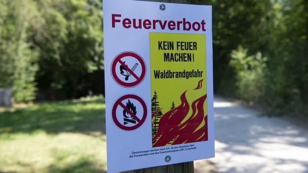 Im Baselbiet gilt Feuerverbot.
